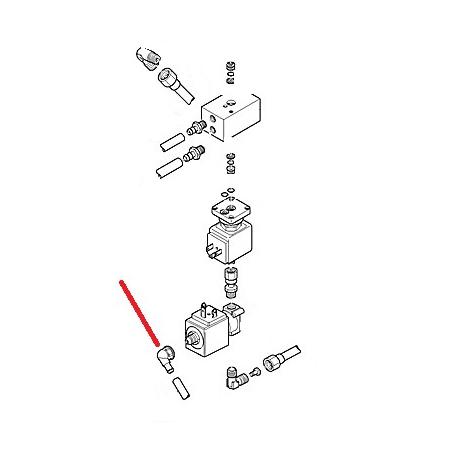 RACCORD FEMELLE 1/8 ORIGINE CIMBALI - SQ6380