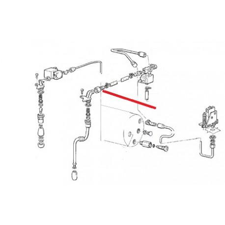RACCORD TUBE 1/4 ORIGINE CIMBALI - SQ6384