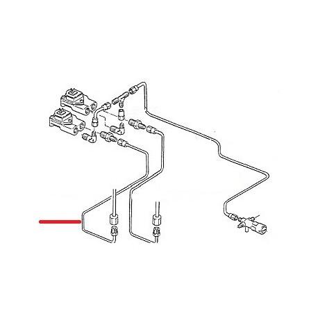 TUBE GROUPE GAUCHE DEBIMETRE ORIGINE CIMBALI - SQ6316