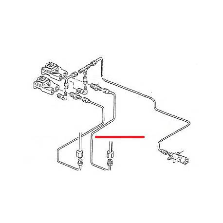 TUBE GROUPE DROIT DEBIMETRE ORIGINE CIMBALI - SQ6317