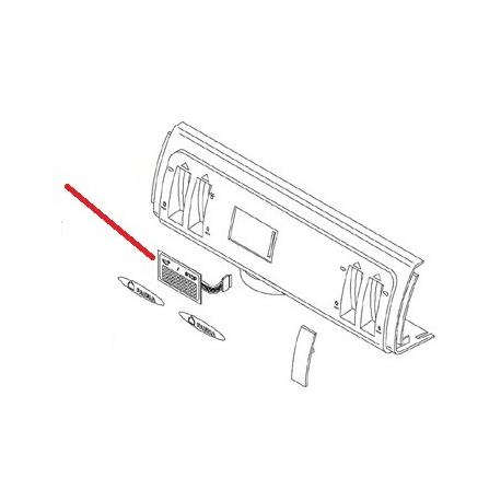 MEMBRANE CLAVIER SMART S ORIGINE CIMBALI - SQ7658