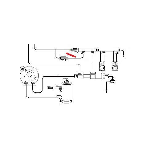 TUBE COLLECTEUR ROBINET ORIGINE FUTURMAT - SGQ6383