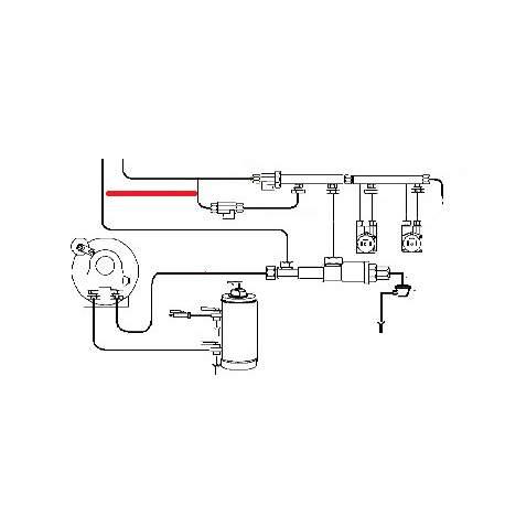 TUBE ROBINET RACCORD ORIGINE FUTURMAT - SGQ6397