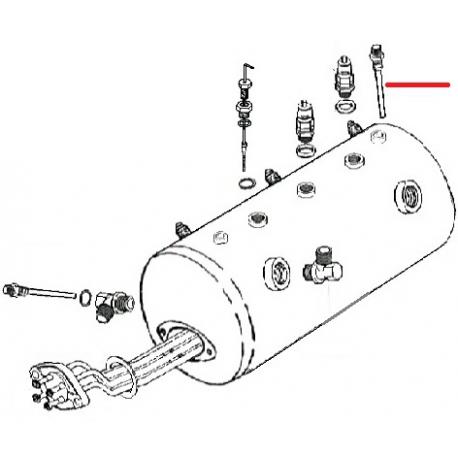 TUBE PLONGEUR SUPERIEUR RIMINI ORIGINE FUTURMAT - SGQ8538