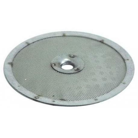DOUCHETTE PLATE INOX - TVQ600