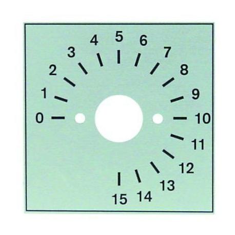 FACADE POUR MINUTEUR 15MIN - TIQ78245