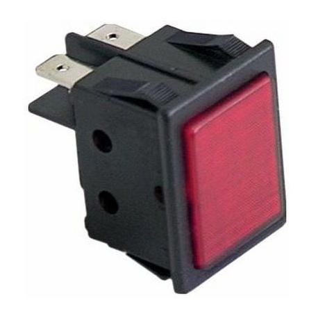 LAMPE TEMOIN ROUGE 230V - ZMQ04