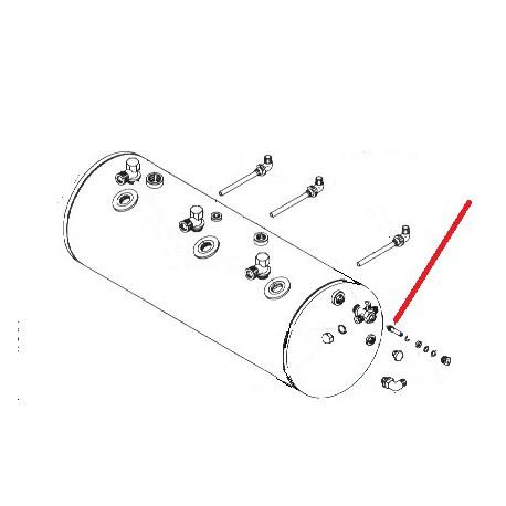 AXE D'INTERSECTION ORIGINE PAVONI - CQ677