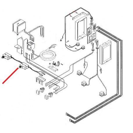 MICRO INTERRUPTEUR S 3GR ORIGINE PAVONI - CQ076