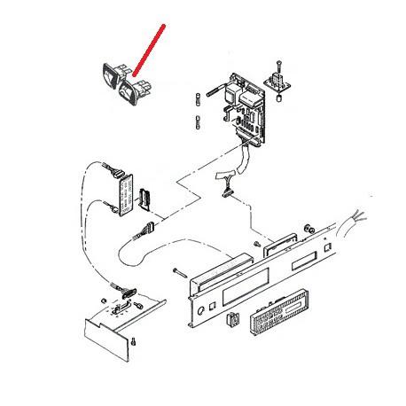 INTERRUPTEUR CHAUFFE TASSE MLN ORIGINE RANCILIO - EQ689