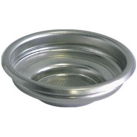 FILTER 1 CUP 61MM 7GR INOX - EQ068
