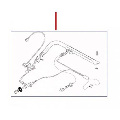 KIT GAZ 2 GR ORIGINE RANCILIO - EQ376