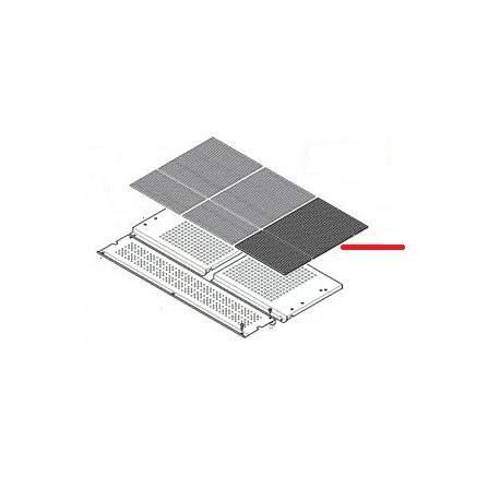 JEU DE GRILLE PLASTIQUE 1/2GR - EQ457
