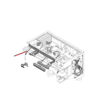 CABLAGE BOUTON EAU E ORIGINE RANCILIO - EQ485