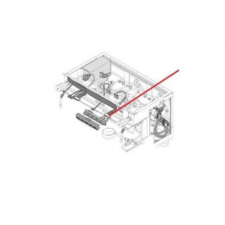 CABLAGE CLAVIER 3GR E ORIGINE RANCILIO - EQ486