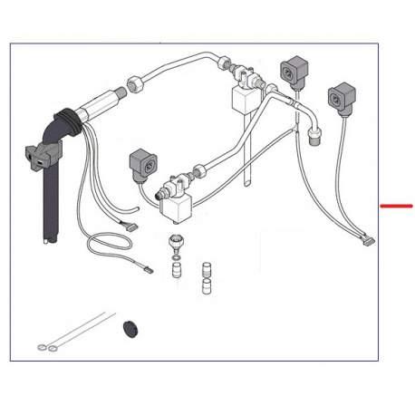 KIT VAPEUR TSC COMPLET 1GR ORIGINE RANCILIO - EQ425