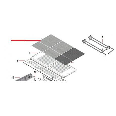 RESISTANCE CHAUFFE TASSE 2GR ORIGINE RANCILIO - EQ6555