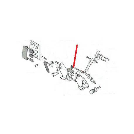AXE POUSSOIR ALIMENTATION ORIGINE RANCILIO - EQ6564