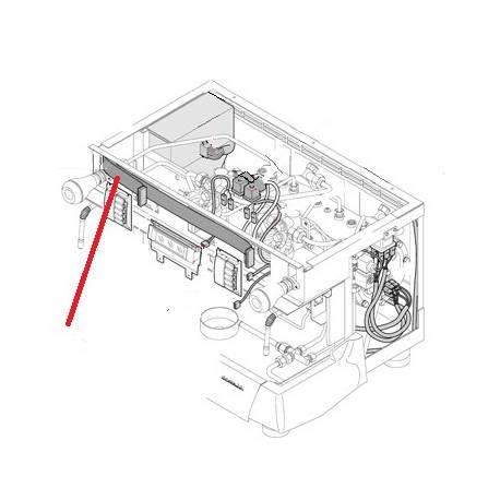 CABLAGE FONCTIONS CLAVIER ORIGINE RANCILIO - EQ6585