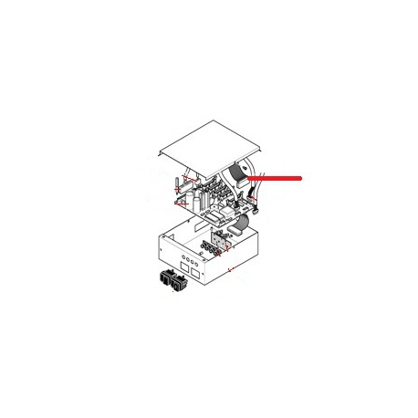 CABLAGE CLAVIER 4GR ORIGINE RANCILIO - EQ6596