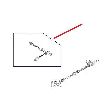 SOUPAPE RETENUE-EXPENSION 4 V ORIGINE RANCILIO - EQ6504