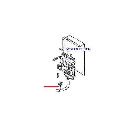 CABLAGE 3GR ORIGINE RANCILIO - EQ6650