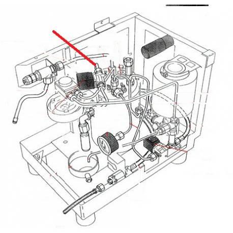 TUBE 8X6X110MM ORIGINE RANCILIO - EQ6666