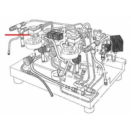 TUBE 12X10X410MM ORIGINE RANCILIO - EQ6668