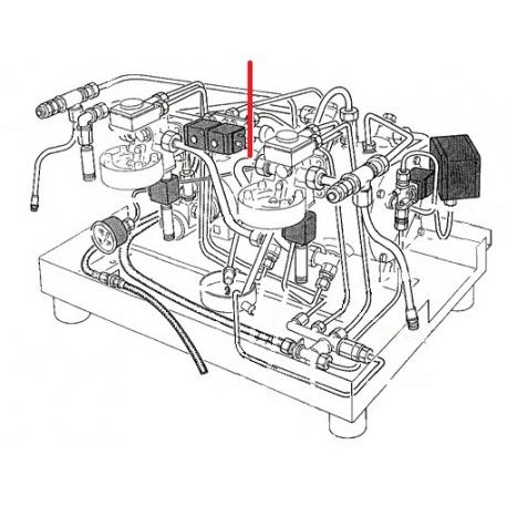 TUBE 12X10X280MM ORIGINE RANCILIO - EQ6669