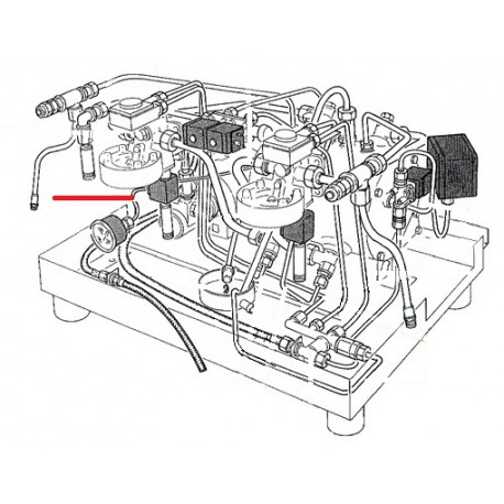 TUBE 4X3X430MM ORIGINE RANCILIO - EQ6660