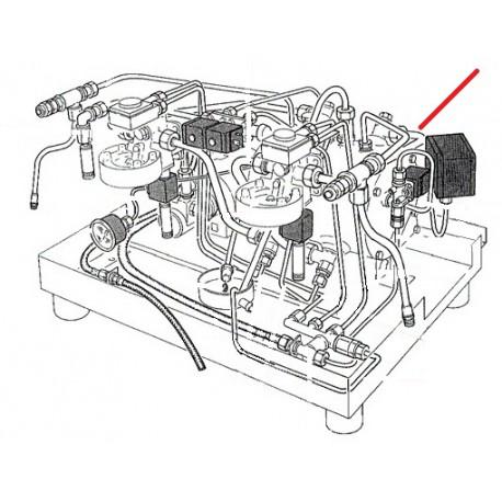 TUBE 12X10X340MM ORIGINE RANCILIO - EQ6663