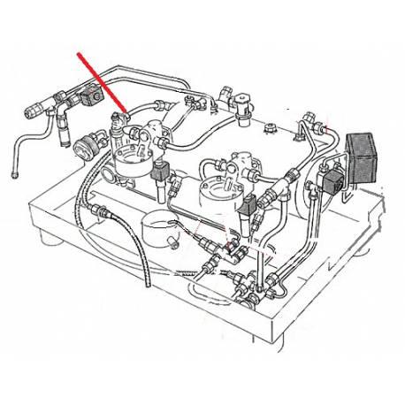TUBE 4X3X400MM F1/4-F1/8 1GR ORIGINE RANCILIO - EQ6676