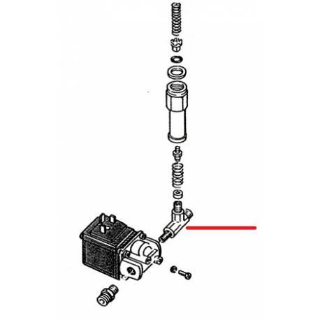 RACCORD 2V ELECTROVANNE ORIGINE RANCILIO - EQ6604
