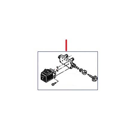 ECONOMISEUR COMPLET 220V TECNA NSF ORIGINE RANCILIO - EQ6615