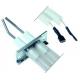 ELECTRODE 9X40MM AVEC CABLE SILICONE 670MM L:650MM ORIGINE - TIQ78483
