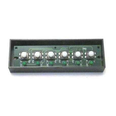 CLAVIER 5-6T COMPLET LEDS - ERQ309