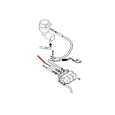 RESSORT ET TUBE PRODUIT 2 ORIGINE SAECO - FRQ901