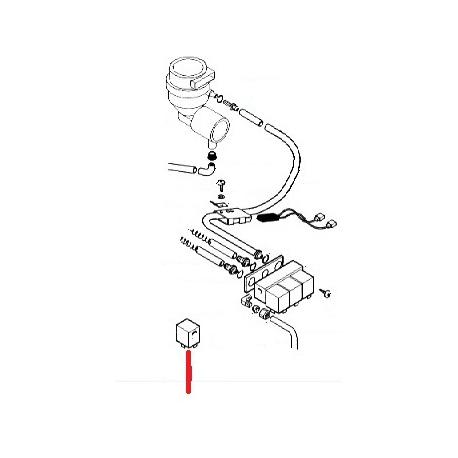 BOBINE ELECTROVANNE POUDRE ORIGINE SAECO - FRQ927