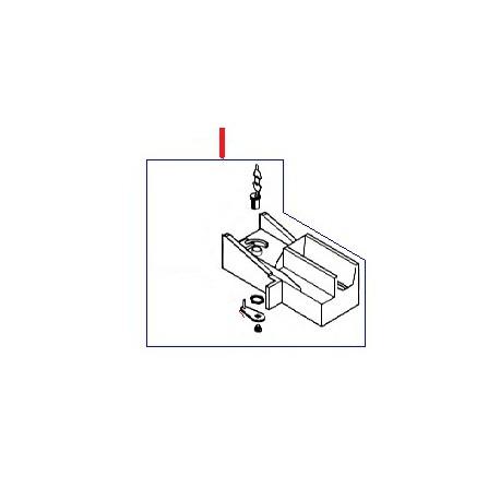 COUVERCLE A CLEF CAISSE ORIGINE SAECO - FRQ160