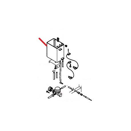 CUVE AIR-BREAK ORIGINE SAECO - FRQ184