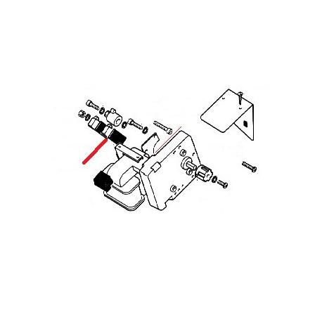 MICRO MOTEUR REDUCTEUR 7P ORIGINE SAECO - FRQ6512