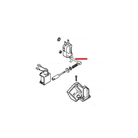 AXE DE REGLAGE DU MICRO ORIGINE SAECO - FRQ6524