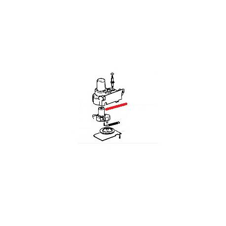 MOTEUR BRAS 8P ORIGINE SAECO - FRQ6684