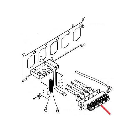 BLOC 5 ELECTROVANNES ORIGINE SAECO - FRQ6216