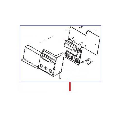 BLOC CDE COMPLET ROYAL OFFICE ORIGINE SAECO - FRQ7835