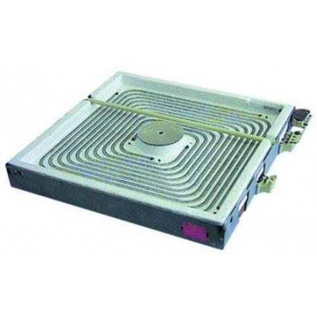 PLAQUE ELECTRIQUE 300X300MM AVEC DETECTEUR 3500W 400V - TIQ79632