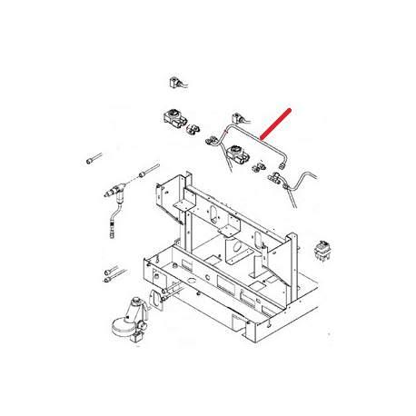 TUBE LIAISON DEBIMETRE 2/3GR ORIGINE SAN REMO - FNAQ04