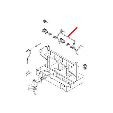 TUBE LIAISON DEBIMETRE 3GR ORIGINE SAN REMO - FNAQ15