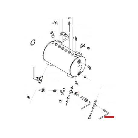 TUBE ALIMENTATION DEBIMETRE - FNAQ10