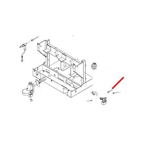 TUBE REMPLISSAGE BOILER 1GR ORIGINE SAN REMO - FNAQ14